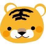 54.楽天的な虎(オレンジ)