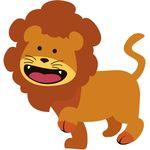 57.感情的なライオン(ゴールド)
